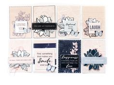 Breathe Card Set with Terhi Heritage Scrapbooking, Scrapbooking Layouts, Scrapbook Pages, You Are My Favorite, Small Cards, Some Cards, Close To My Heart, Great Love, Cardmaking