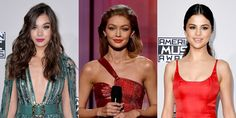We know you partied hard and summer is in full swing, so here are three easy hairstyles to wear from the 2016 American Music Awards. Partying Hard, Hailee Steinfeld, American Music Awards, Gigi Hadid, Hair Trends, Selena Gomez, Easy Hairstyles, Red Carpet, Celebrity Style