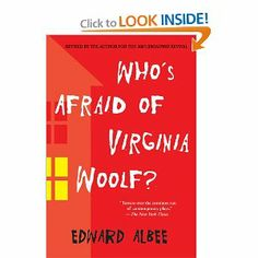 Whos Afraid of Virginia Woolf?: Edward Albee: 9780451218599: Amazon.com: Books