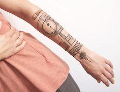 Modern mehndi design for arm by @rabbyy_mehndi #mehndi #mehndidesign #henna #hennadesign #hennatattoo