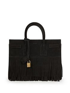 ysl bags sale - Saint Laurent Emmanuelle Small Fringed Leather Hobo Bag | I Love ...