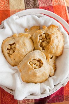 Also a fun individual treat. Apple hand-pies.