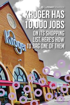 About Kroger jobs will soon be up for grabs. Here's what you need to know to get one -- including some of the awesome benefits! Starting Your Own Business, Online Jobs, Extra Money, Homemaking, Get One, Personal Finance, Budgeting, How To Make Money, Learning