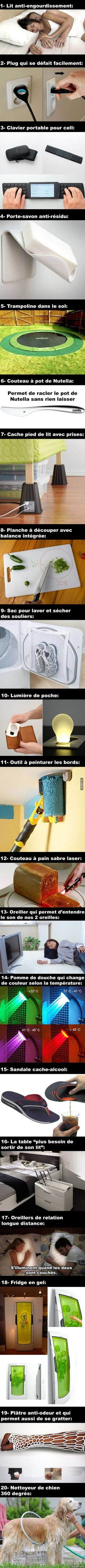 20 Inventions dont on a trop besoin Québec Meme Cool Inventions, Cool Gadgets, Good To Know, Geek Stuff, Cool Stuff, Funny, Amazing, Woodworking Projects, Helpful Hints