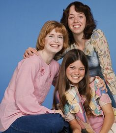 "Bonnie Franklin, left, Mackenzie Phillips, top, and Valerie Bertinelli are shown in this 1977 publicity photo for the show ""One Day at a Time."" Franklin, the redheaded actress whom millions came to identify with for her role as divorced mom Ann Romano on the long-running sitcom died on March 1, 2013, due to complications from pancreatic cancer. She was 69. ("