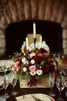 30 Burgundy and Blush Fall Wedding Ideas   Wedding ...