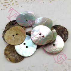 20 unids/lote, 25 mm Natural Akoya perla botones de la camisa del suéter ropa accesorios DIY en Botones de Casa y Jardín en AliExpress.com | Alibaba Group