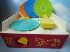 Fisher-Price vintage music box player