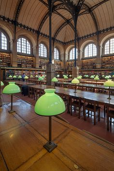 Bibliotheque Saint Genevieve, Paris