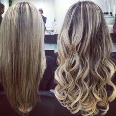 Solução para cabelos ralos e finos.....#hotheads @mulher_cheirosa @mcparquelandia #hair #beauty #beautifull #instablonde #cabelospoderosos