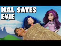Mal Saves Evie When She Is Kidnapped By Descendants Audrey. DisneyToysFan