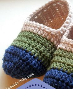 You'll love these gorgeous Ballerina Flats and they're a comfy FREE Crochet Pattern. Check out the Crochet Boat Shoes, Button Strap Slippers and Loafers and the Knitted Slipper Patterns as well.