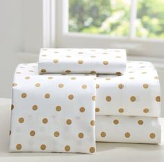 Sheet set from PB teen in the Emily + Merritt collection to go along with the dovet