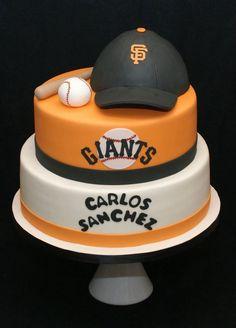 San Francisco Giants cake!!!  Www.docecake.com