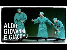 I chirurghi (parte 1) - Tel chi el telun | Aldo Giovanni e Giacomo - YouTube