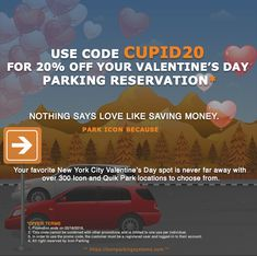 Icon Parking Gives You The Best Nyc Coupons And Daily S At Over New York Locations