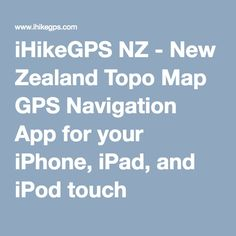 iphone app for gps tracking