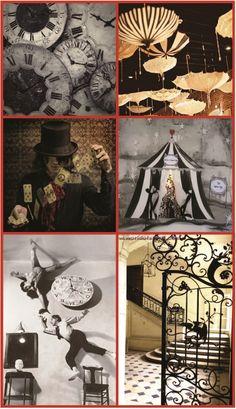 Dark Circus, Circus Art, Circus Theme, Circus Birthday, Birthday Parties, Arte Punch, Halloween Circus, Creepy Circus, Creepy Carnival