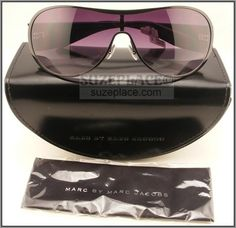 New Marc by Marc Jacob Sunglasses with Case & Cloth