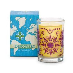 DISCOVERY BY PARTYLITE SCENTED CANDLE – COSTA RICAN FRUTA DORADA Item: G55302 Take an adventure simply by lighting a candle! Journey to the peaceful oasis of Costa Rica where the scent of luscious ripe fruit fills the air.