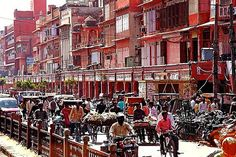 """pink city"", Jaipur, the capital city of the desert state of Rajasthan"