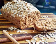 Oatmeal Honey Cinnamon Quick Bread