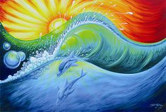 waves art | Drew Brophy > Surf Artist Interview | Club Of The Waves