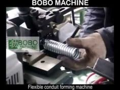 (68) Flexible conduit forming machine - YouTube Flexible Pipe, Power Strip, Flexibility, Innovation, Youtube, Back Walkover, Youtubers, Youtube Movies