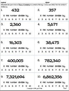 Describing People Worksheets Practice With Prime Numbers  Prime Numbers Worksheets And Math Chapter 12 Stoichiometry Worksheet Answers Word with Subtraction From 20 Worksheets Excel Image Result For Divisibility Rules Writing Expression Worksheets