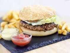 die besten 25 double burger ideen auf pinterest gesundes fast food mittagessen bestes. Black Bedroom Furniture Sets. Home Design Ideas