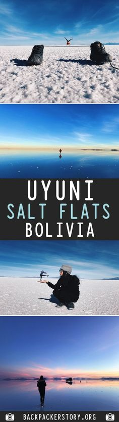 Salar de Uyuni or Uyuni Salt Flats is located in the South West of Bolivia. How to get to Uyuni Salt Flats, Uyini Salt Flats Price Bolivia Travel, Top Place, Backpacker, South America, Travel Inspiration, Salt, Places To Visit, Big, Pictures
