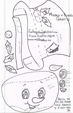 Un patrón de enredo de Chris-Moose de muñeca primitiva-de Navidad-alitas de luz enredado-caprichosa-estante sitter-arte de la fibra Christmas Origami, Christmas Colors, Christmas Projects, Christmas Tree Ornaments, Paper Crafts For Kids, Christmas Crafts, Diy Crafts, Merry Christmas Coloring Pages, Felt Crafts Patterns