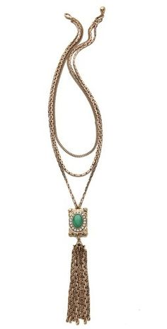 Lulu Frost Immortality Tassel Necklace   $288.00