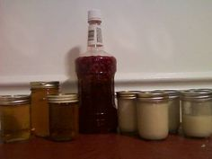 Homemade liqueurs: frangelico, amaretto and chambord by loveforart on Craftster