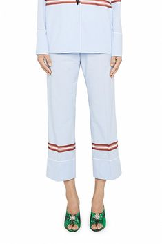 Explore Exclusive Women's Trousers_shorts : Shop Online the latest Collection by Alessandro dell'Acqua from our Official Store and make use of our international deliver. Cotton Pyjamas, Pajamas, Trousers Women, Capri Pants, 21st, Shorts, Shopping, Collection, Style
