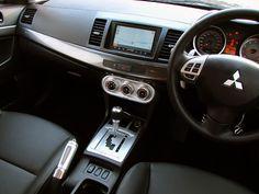 Interior Of Mitsubishi Lancer EX GT