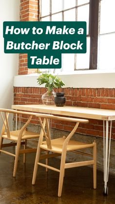 Diy Rustic Decor, Diy Kitchen Decor, Diy Bathroom Decor, Diy Home Decor, Recycled Furniture, Diy Furniture, Butcher Block Tables, Sustainable Furniture, Inexpensive Home Decor