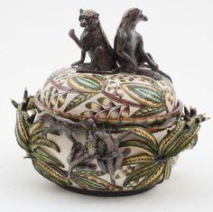 Ardmore Ceramics: Monkey Tureen AAA