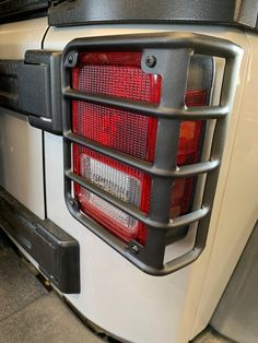 Jeep Wrangler Accessories - Matte Black Rear Tail Light Guards Cover Protector for 2007-2018 Jeep Wrangler JK and Unlimited JKU, they reuse the factory screws to make it super easy install, will let your Jeep looks rugged! Jeep Wrangler Lights, Wrangler Sahara, 2017 Jeep Wrangler, Jeep Jk, Jeep Truck, Jeep Wrangler Unlimited, Jeep Wrangler Accessories, Jeep Mods, Light Covers