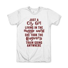 Just A City Girl Living In A Muggle World. by AwesomeBestFriendsTs #harrypotter