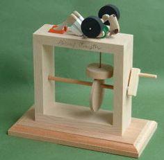 weight lifting automaton