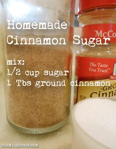 Homemade Cinnamon Sugar Recipe