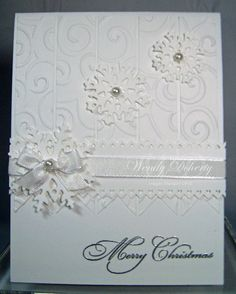 Stamping Styles: White Christmas