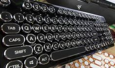Azio Retro Classic Keyboard Review: The New Vintage