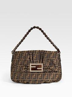 999c3d192d57 Fendi - Mia Zucca Flap Bag - Saks.com Fashion Runway Show