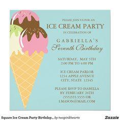 58 Best Invites Ice Cream Party Images Ice Cream Party