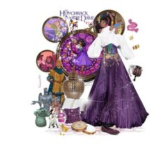 Esmeralda: The hunchback of Notre-Dame. Disney Outfits, Alice Olivia, Sperrys, Notre Dame, River Island, Polyvore Fashion, My Arts, Disney Princess, Disney Characters