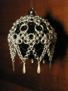 Freya Jewelry | Handmade Chain Maille ornament cover | Online Store Powered by Storenvy