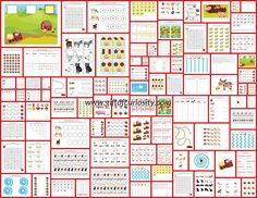 Farm Printables Pack collage