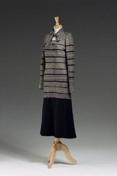 """DRESS SUIT, Gabrielle """"Coco"""" Chanel,1925-1929"""
